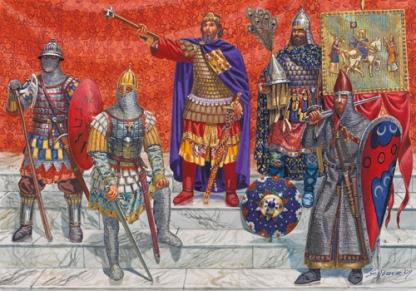 Varangians at the court of Basil II