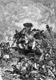 Death of Julian in Battle of Ctesiphon, 363