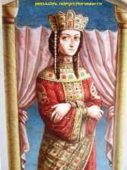 Empress Theodora Porphyrogenita (r. 1055-1056), the last Macedonian