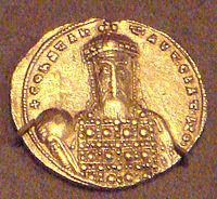 Gold solidus of Constantine VII