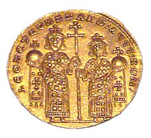 Coin of Leo VI and Constantine VII