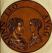 Leo I and his grandson Leo II (r. 474)