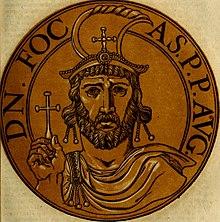 Emperor Phokas, the centurion usurper (r. 602-610)