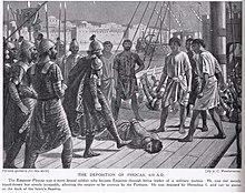 Heraclius' troops depose Phokas, 610