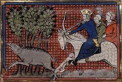 John II hunting in Cilicia, 1143