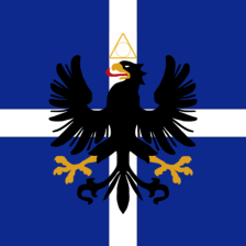 Despotate of Epirus flag, founded by an Angelos family member