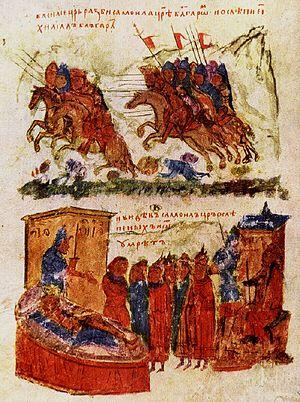 Battle of Kleidion, Byzantines vs Bulgarians