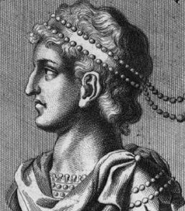 Emperor Justin II (r. 565-578), nephew of Justinian I