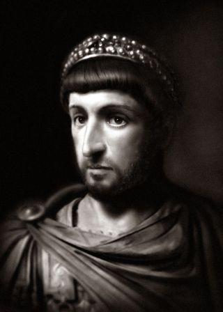 Emperor Theodosius II (r. 408-450), son of Arcadius