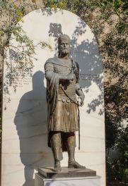 Statue of Constantine XI in Athens