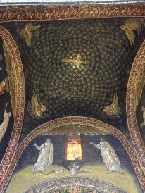 Mosaic ceiling of the Mausoleum of Galla Placidia, Ravenna