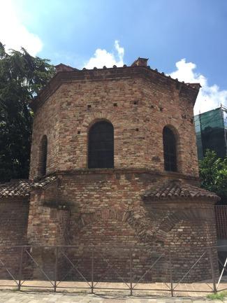 Arian Baptistery exterior