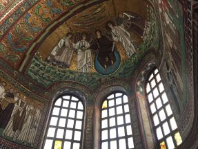 Full of view of the apse of San Vitale
