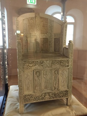 Ivory throne from Justinian I