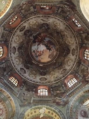 Baroque details of San Vitale