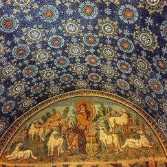 Western Roman Empire Christian mosaics from the 5th century