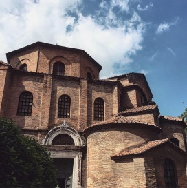 Basilica di San Vitale, Ravenna, built after the Byzantine Reconquest of 540