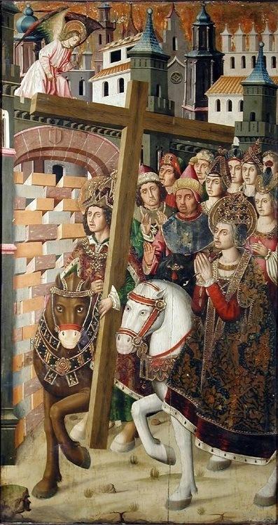 Heraclius returns the True Cross to Jerusalem, 630