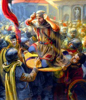 Coronation of Julian in Paris, 360