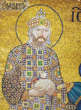 Emperor Constantine IX Monomachos (r. 1042-1055), 3rd husband of Zoe