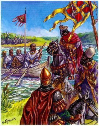 John I meets with the Kievan Rus