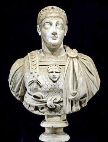 Valentinian III (r. 425-455), last Theodosian emperor in the west