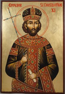Constantine XI Dragases Palaiologos (r. 1449-1453), last Byzantine emperor