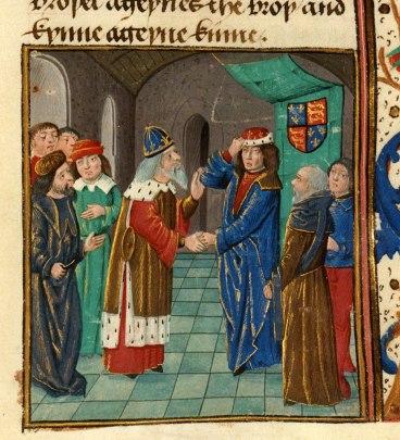 Manuel II visits King Henry IV in London