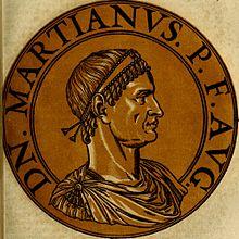 Emperor Marcian (r. 450-457), last Theodosian emperor in the east
