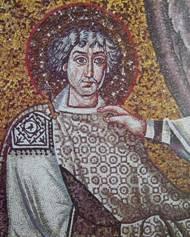 Emperor Tiberius II Constantine (r. 578-582), stepson of Justin II and Sophia