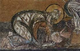 Mosaic of Leo VI the Wise