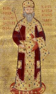 Manuel II Palaiologos (r. 1391-1425), son of John V