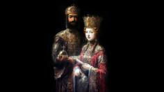 Emperor John II Komnenos and his wife Empress Irene of Hungary