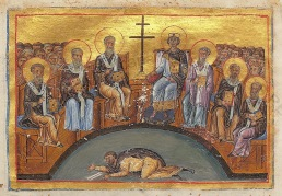 Constantine VI at the 2nd Council of Nicaea