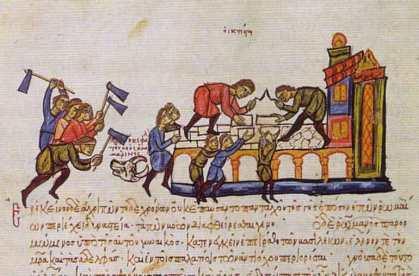 Constantinople reconstructed under Romanos I