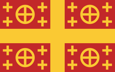 Latin Empire flag
