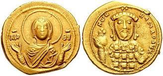 Gold solidus of Constantine X Doukas