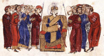 Court of Leo V the Armenian in the Madrid Skylitzes