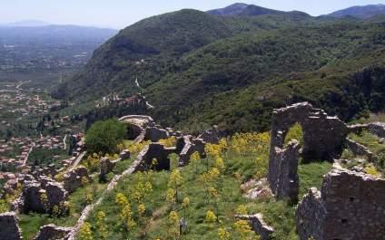 Walls of Mistras, Peloponnese