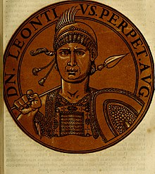 Emperor Leontios (r. 695-98), of Isaurian descent