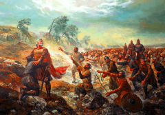 Byzantines win the Battle of Kleidion (1014)