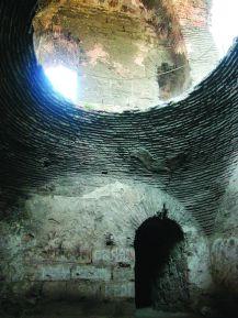 Remains of a Byzantine prison