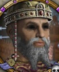 Artavasdos (r. 742-743), blinded by Constantine V