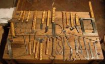 Medieval/ Byzantine surgical tools, Bologna