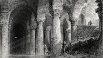 Cistern of Aetius illustration
