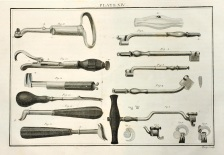Historical dental tools