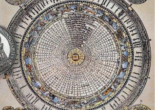 Renaissance depiction of the Gregorian calendar