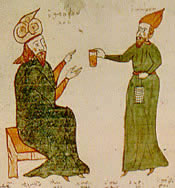Byzantine medicine illustration