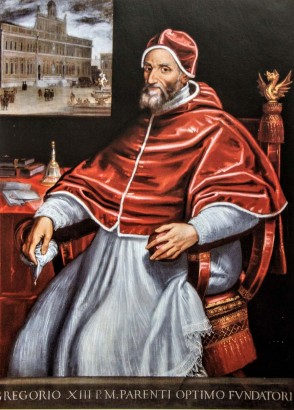 Pope Gregory XIII (r. 1572-1585)