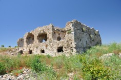 Remains of a Byzantine hospital in Turkey